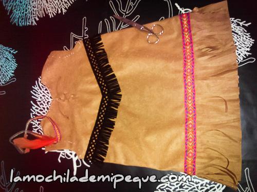 Disfraz de india Siuox