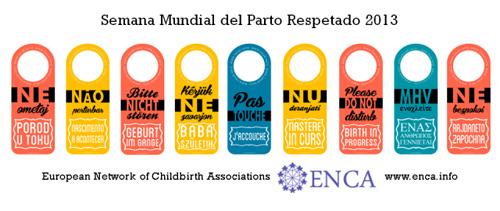 Semana mundial del parto respetado 2013