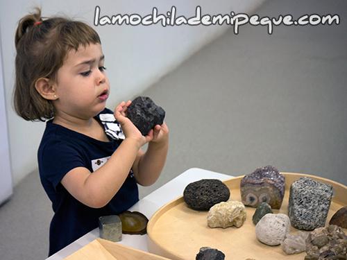 Experimentamos con minerales