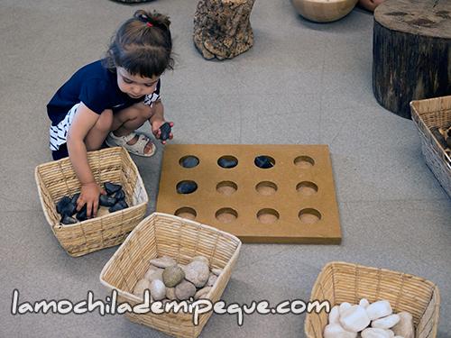 Experimentamos con piedras
